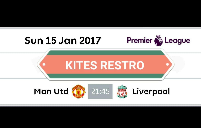 Man United VS Liverpool @ KITES, KINGSWAY