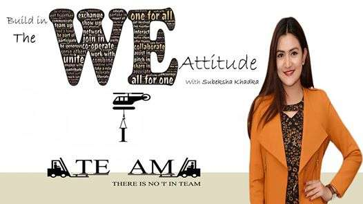 The WE Attitude Workshop with Subeksha Khadka