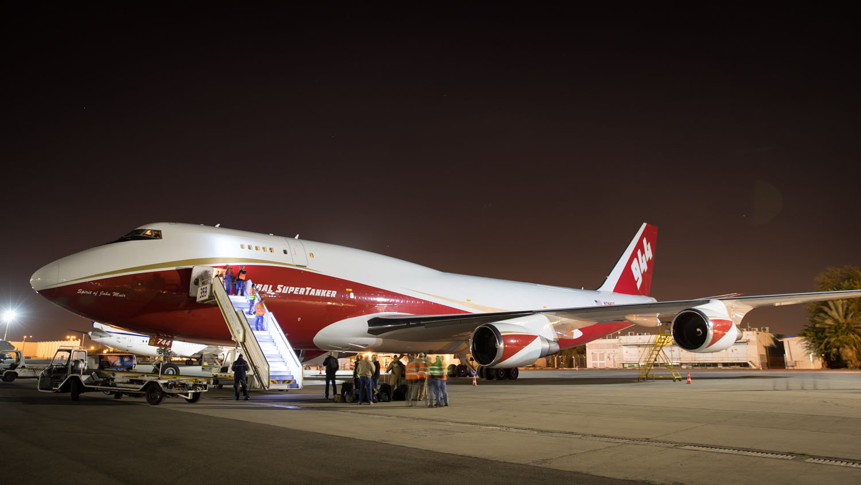 The World's Largest Firefighting Plane.   Suvadin