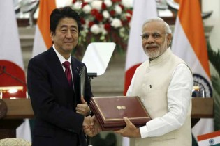 Japan, India sign controversial civil nuclear deal