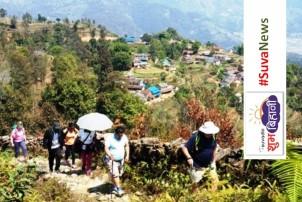 पामे–भुम्दीकोट पदमार्गः पूर्वाधार थपिँदै, स्थानीयबासी अार्थिक रूपमा सक्षम बन्दै