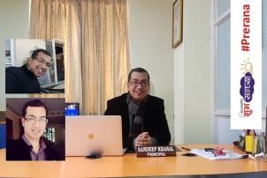 २९ वर्षको उमेरमै प्रतिष्ठित कलेजको सिइओ र प्रिन्सिपल