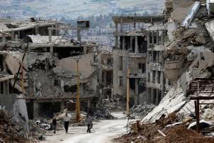 सीरिया, दुष्काल के चंगुल में