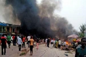 नाइजेरियामा आत्मघाती विष्फोटमा ३१ जनाको मृत्यु