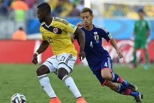 एशियाली टीम जापान सामु कोलम्बियाको कडा चुनौती