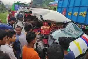 तनहुँमा सवारी दुर्घटनाः दुई जना महिलाको मृत्यु