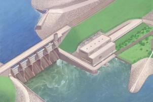 रावाखोला जलविद्युत् आयोजना ८० प्रतिशत सम्पन्न