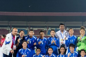 म्यानमारसँग पराजित हुँदै उपविजेता बन्यो नेपाल