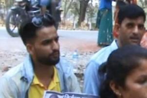 निर्मला हत्याकाण्डको १० महिनाः जिल्ला प्रहरी कार्यालयअगाडि धर्ना
