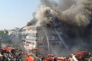गुजरातको एक भवनमा भीषण आगलागी, १८ बालबालिकाको मृत्यु