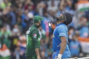 भारत-पाकिस्तानबीचको खेलमा वर्षा बन्याे बाधक
