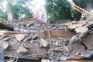 पाँचथरमा मन्दिरको छत खस्दा दुईजनाको मृत्यु