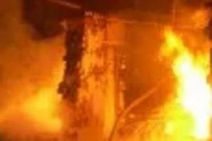 आफ्नै घरमा आगो लगाएको आरोपमा महिला पक्राउ