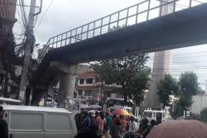 काठमाडौंमा थप आकाशे पुल बनाउने तयारीमा महानगर, भएका आकाशे पुल प्रयोगविहिन
