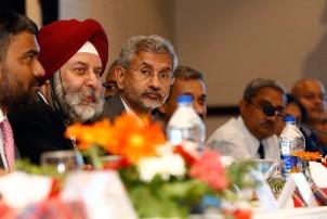 मध्यरातमा राजपा अध्यक्षमण्डलका सदस्य र जयशंकरबीच भेटवार्ता
