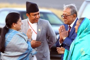 बङ्गलादेशी राष्ट्रपति हमिद स्वदेश फिर्ता