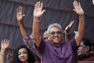 राजापाक्ष श्रीलंकाको आठौं राष्ट्रपतिमा निर्वाचित