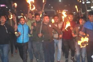 भारत र चीनको विरोध गर्ने नेविसंघका २१ कार्यकर्ता पक्राउ
