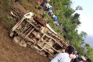 पाल्पामा जीप दुर्घटना, दुई जनाको निधन