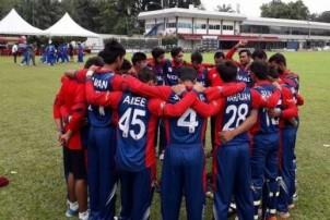 पुरुष क्रिकेटमा माल्दिभ्सलाई पराजित गर्दै नेपाल विजयी