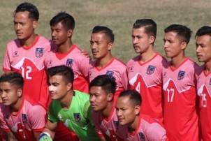 पुरुष फुटबलमा माल्दिभ्सलाई २–१ ले हराउँदै नेपाल विजयी