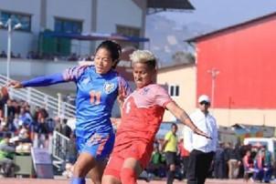 महिला फुटबलमा नेपाल पराजित, भारतले जित्यो स्वर्ण