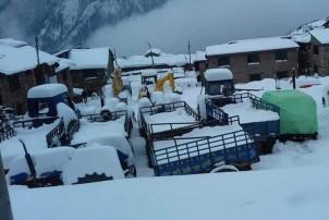 आजको मौसमः हावाहुरीसहित हिमपात र वर्षाको सम्भावना