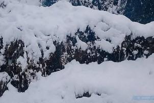 हिमपातका कारण डोल्पाको जनजिवन प्रभावित, वार्षिक परीक्षा नै स्थगित
