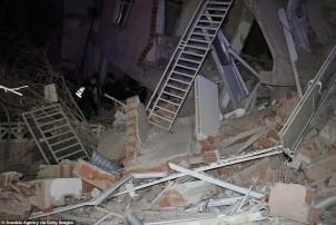 टर्कीमा शक्तिशाली भूकम्प : १५ जनाको मृत्यु, ५०० बढी घाइते