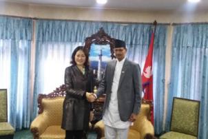 सभामुख सापकोटालाई चिनियाँ राजदूतको बधाई