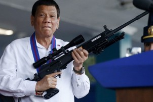 फिलिपिन्सका राष्ट्रपतिले दिए गोली हान्ने आदेश