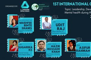 International Level Web Conference Accomplished