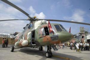 राष्ट्रपति भण्डारी चढेको हेलिकप्टर दाङमा आकस्मिक अवतरण